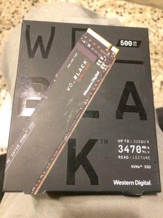 Disco duro ssd m2 wd black 500 gb
