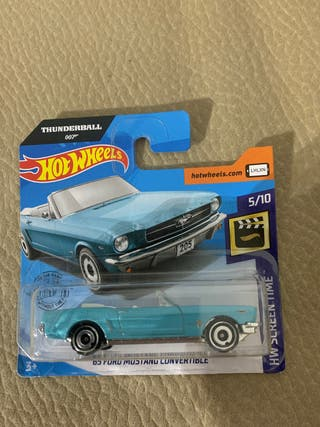 Coche Hot wheels 65 Ford mustang convertible