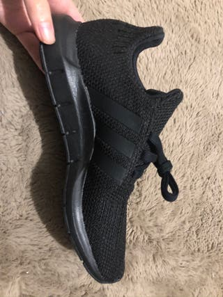 Adidas Swift Run Shoes in Black