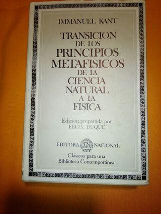 Transición de los Principios Metafísicos de la