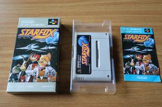 Starfox Starwing Super Nintendo Famicom Japones