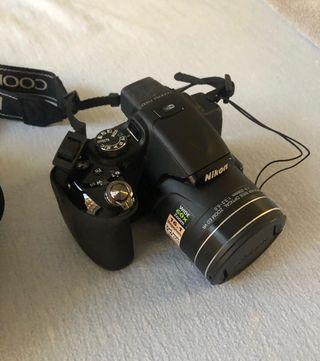 Camara fotos Nikon Coolpix P600