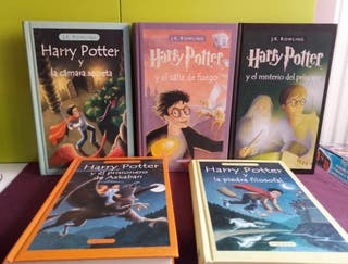 J.K. ROWLING. HARRY POTTER. 5 libros - lote - pack
