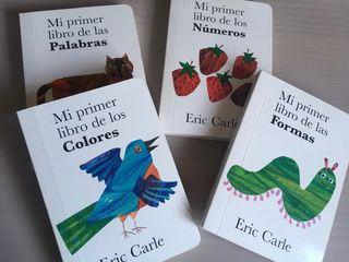 Libros infantiles:Mi primer libro de... Eric Carle