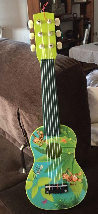 Guitarra infantil madera nueva