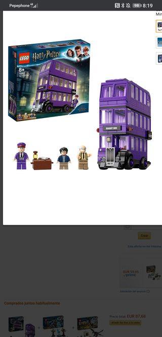 LEGO Harry Potter - Autobús Noctámbulo, Juguete de