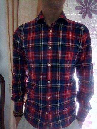Camisa de cuadros talla 38 marca el GANSO