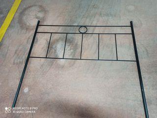 cabecero de cama de hierro 1.35