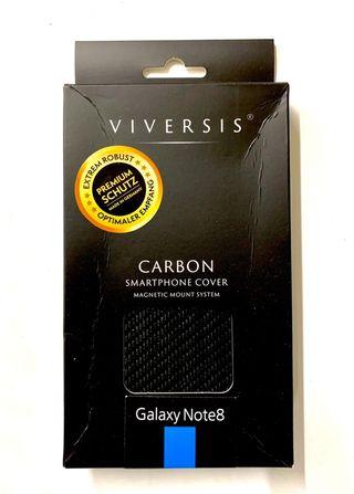 Funda de Carbono Real Samsung Note 10 Hecha a Mano