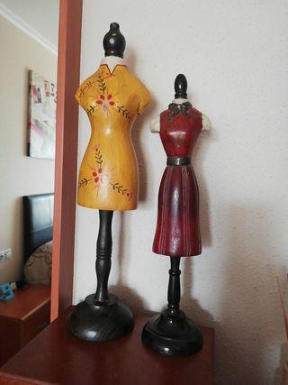 maniquíes de decoración