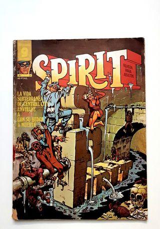 SPIRIT N. 3. Revista para adultos 1975 - cómics