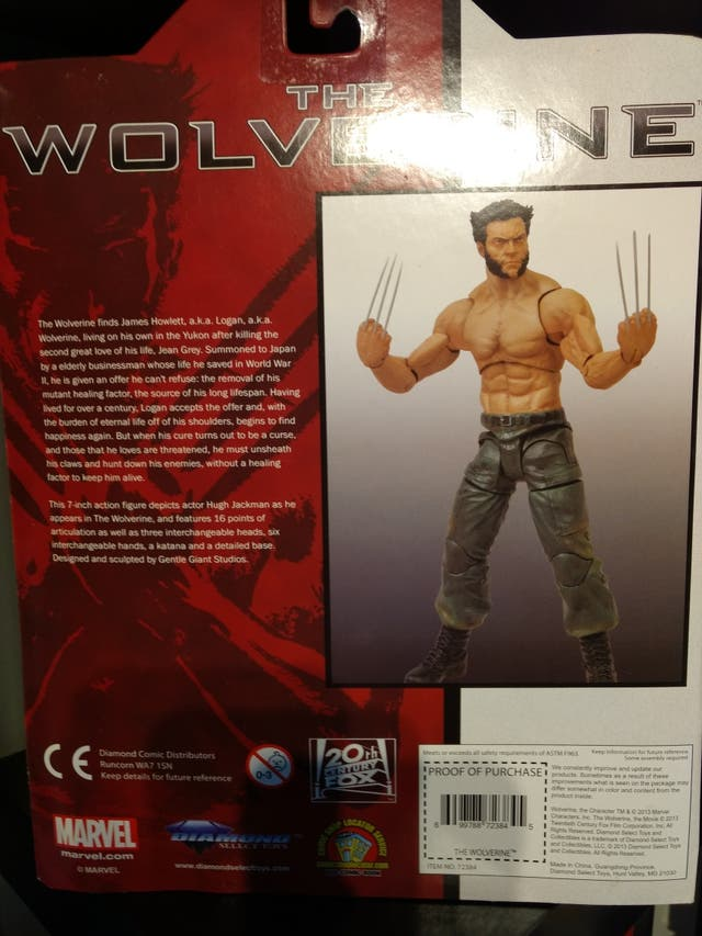 The Wolverine Marvel select