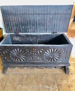 Baúl madera rústico