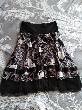 falda corta mujer