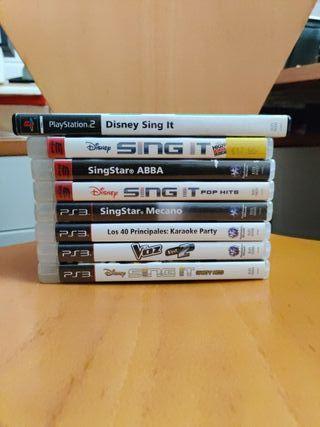 PS3: SingStar, Sing It, La Voz y Los 40