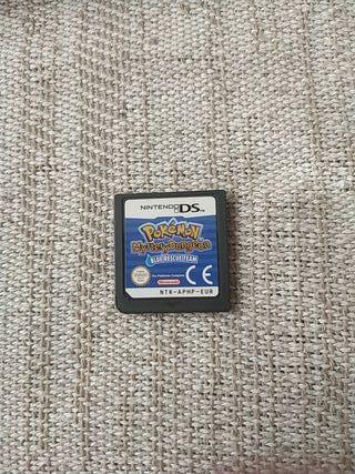 Pokemon mudo misterioso:Equipo de rescate Azul Ds