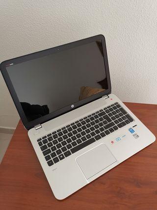 """Portátil HP Envy 15"""" i7/SSD, nuevo"""
