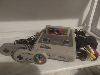 Super Nintendo + Street Fighter 2