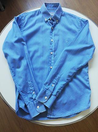 Camisa Azul El Ganso