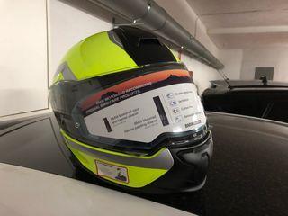 Casco BMW System 7 flúor carbono