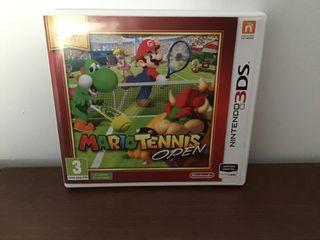 Juego MarioTennis open para 3DS y 2DS