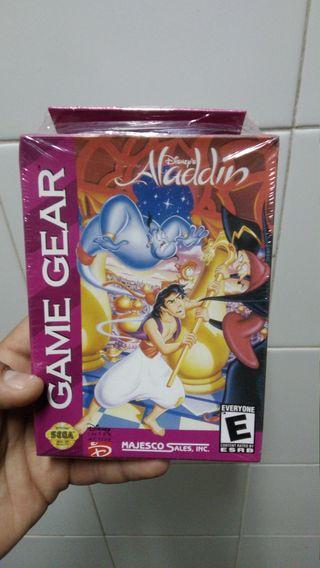 PRECINTADO Aladdin gamegear
