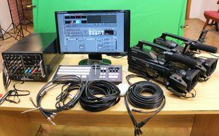 Equipo realizacion video Broadcast Tricaster