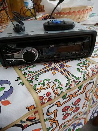 radio casez 50x4 jvc manos libres. Usb para CD mp3