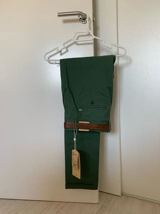 Pantalón chino verde - SALSA