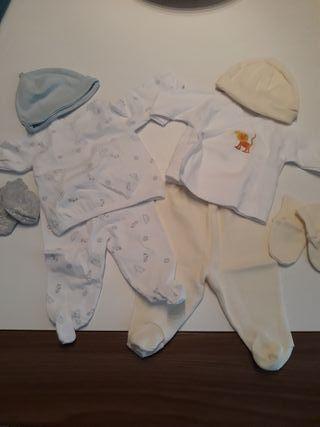 2 conjuntos recién nacido