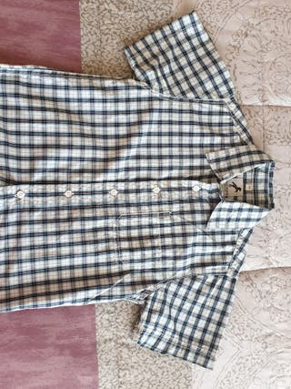 Camisa de niño, talla 5, manga corta