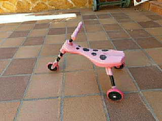 Scuttle bug, tricicleta para niños pequeños