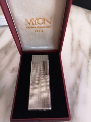 Encendedor plata Myon