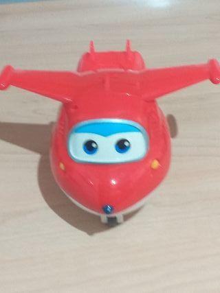 juguete súper wings jet. sonidos y grabador de voz