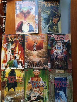Comics Los libros de la Magia (Vertigo)