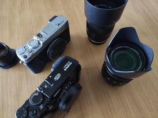 Equipo Fujifilm X-E2S / X100T / objetivos