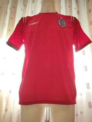 Camiseta fútbol selección inglesa 2004