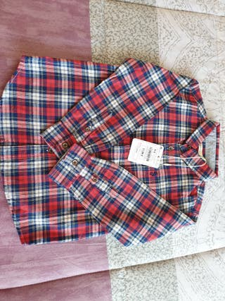 Camisa de niño, talla, 4-5, sin estrenar, con etiq
