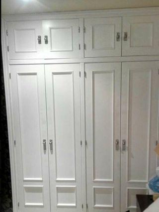 Puertas de madera maciza para armario ..