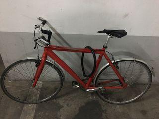 Bici roja One Dimension Me<( candado incluido )