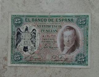 25 pesetas de 1931