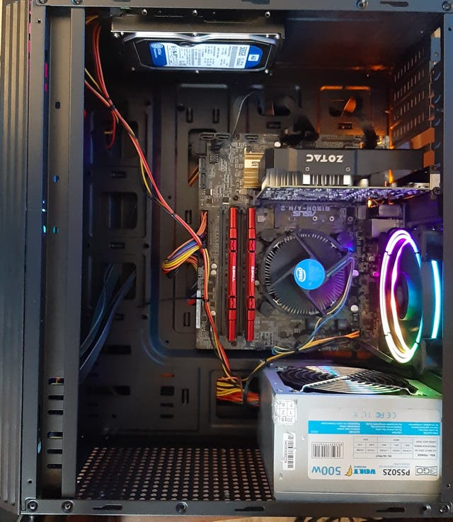 pc gaming i5 6400+gtx 1050 ti 4 gigas+8 ram ddr4+h