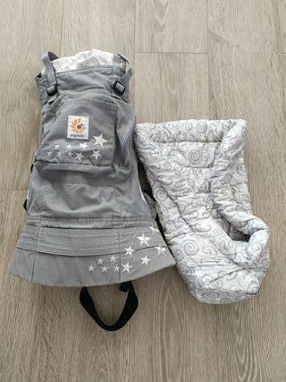 mochila portabebé Ergobaby con cojín recién nacido