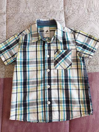 Camisa de manga corta de niño, talla 4