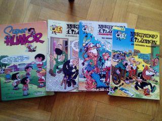 Lote cómics Mortadelo y Zipi y Zape