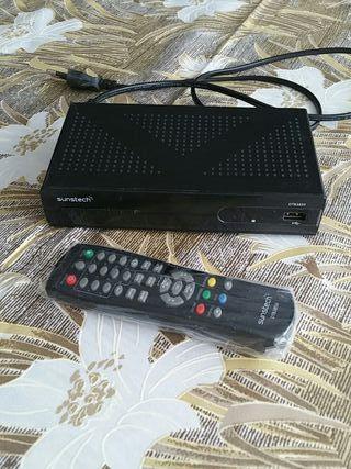 Decodificador TV TDT con puerto USB