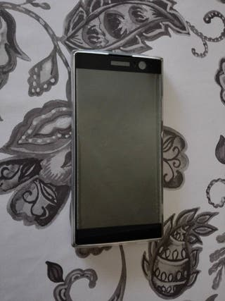 Sony Xperia XA2 negro + funda y cristal templado