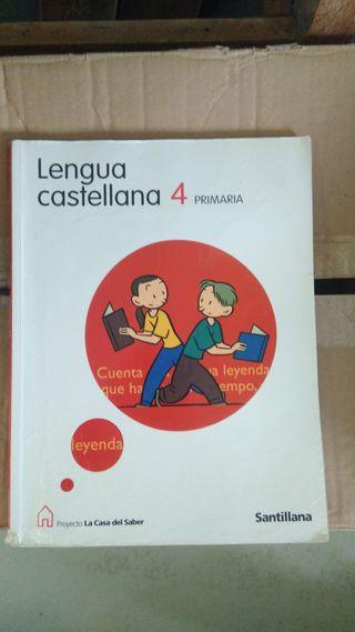 Libro Lengua Castellana 4 Primaria