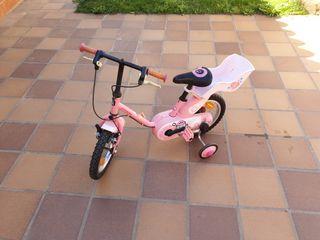 Bicicleta para niñas hasta 5 años