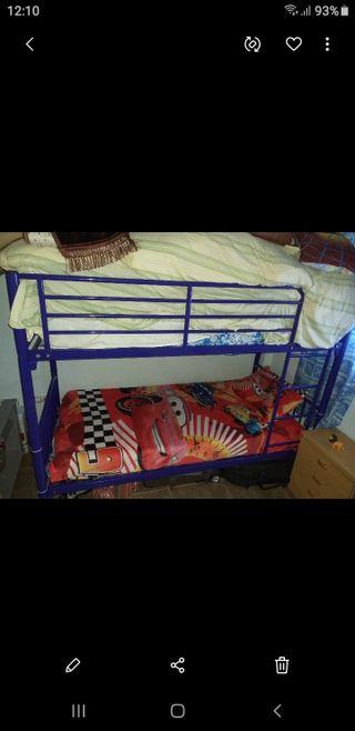 litera de 2 camas 150€